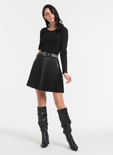 Styletag Sırt Detaylı Bluz Siyah